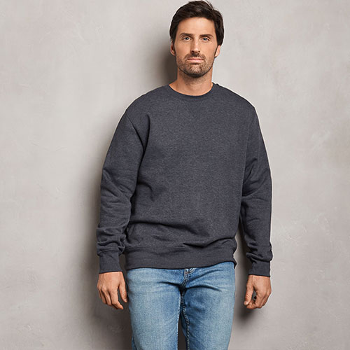 Men's Cotton Rich 2.0 Premium Fleece Sweatshirt