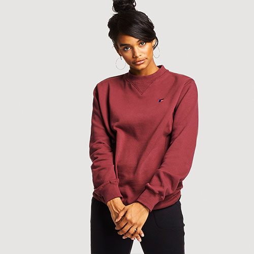 Women's Heritage Oversized Fleece Crew Sweatshirt