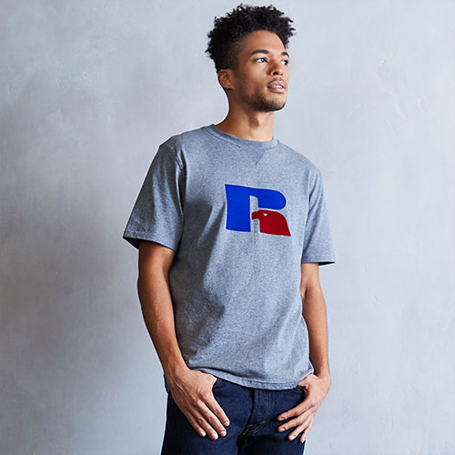 Men's Heritage Flock Graphic T-Shirt